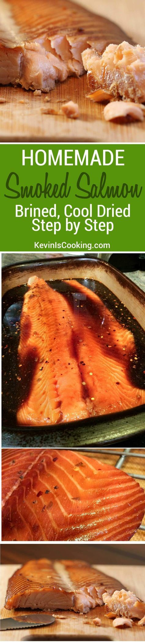 A Great Step By Step Recipe On How To Make Smoked Salmon And Brine You