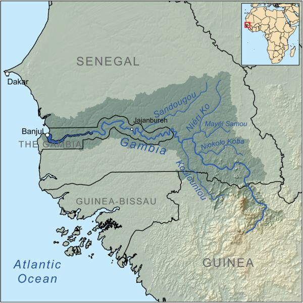 Gambia River - Wikipedia, the free encyclopedia