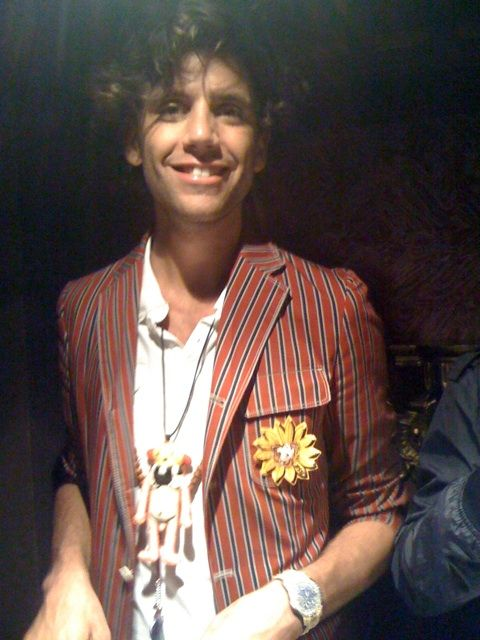 Mika @ his twitter party at a bar in London Sept 2009