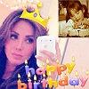 Con una fiesta en las redes sociales, Anahí festeja su cumpleaños número 30