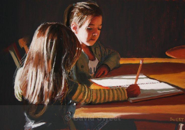 The Helper - Paintings