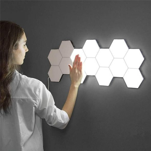 Honeycomb Touch Sensitive Light In 2020 Wall Lamp Lamp Led Night Light