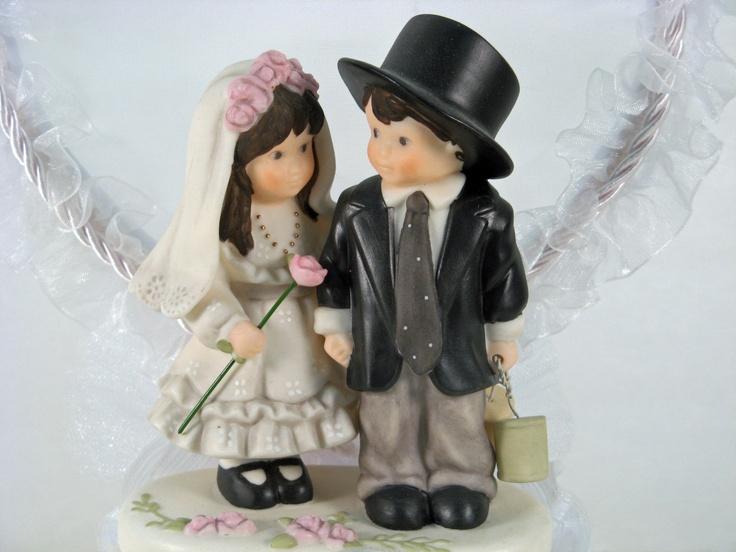 figurine vintage bride