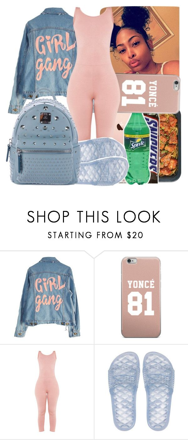 """Untitled #270"" by issaxmonea ❤ liked on Polyvore featuring High Heels Suicide, Puma and MCM"