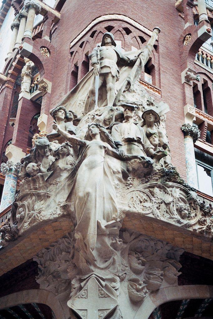 Detall, Palau de la Música Catalana, BCN  Catalonia