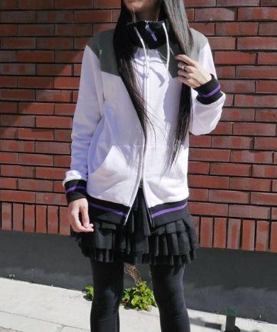 暁美ほむらの魔法少女衣装パーカー