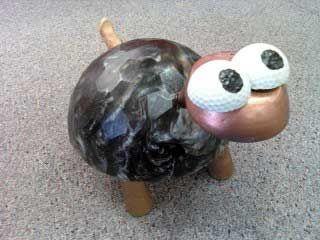 bowling ball yard art instructions
