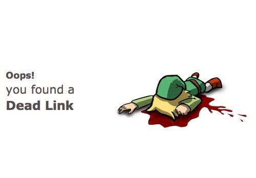 Oops! You found a Dead Link