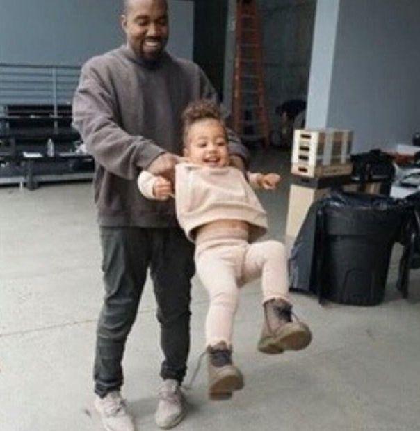 Kanye West & North West