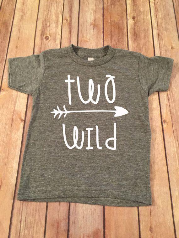 Two Wild Birthday Shirt 2nd Birthday Shirt 2nd Birthday by SnowSew