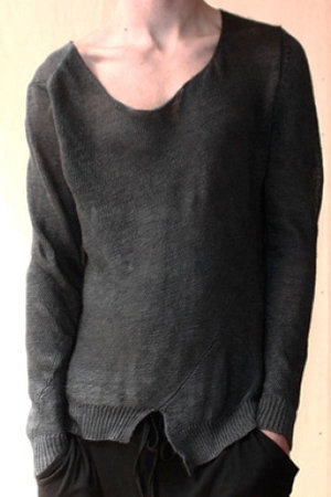 Sweater: Cyberpunk, Fashion Clothing, New Fashion, Grey Sweaters, Men Knits Sweaters, Lights Knits, Knits Linens, Men Wear, Men Sweaters