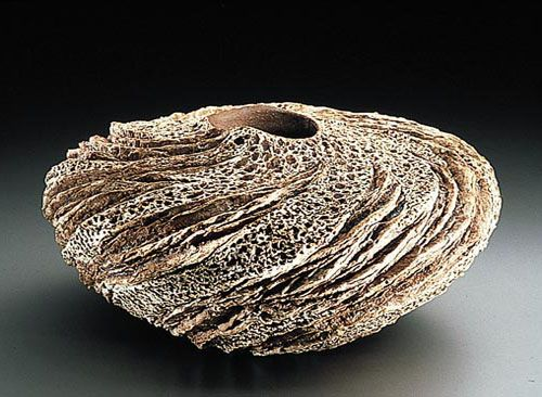 Anne Goldman - Canyon Wall Vase