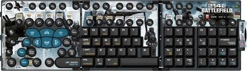Ideazon Zboard ZBD218 Limited Edition Gaming Keyset Battlefield 2142 Ed New | eBay