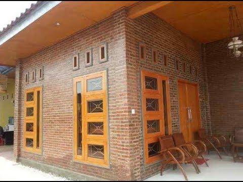 Model Rumah Bata Merah Tanpa Plester Model Rumah Terbaru Desain Rumah Batu Bata 35 Gambar Rumah Batu Bata Yang Keren Desain R Rumah Batu Rumah Desain Rumah