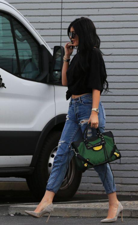 Kylie Jenner street style