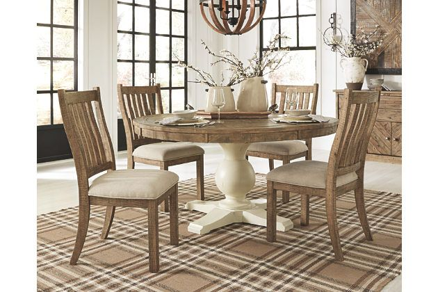 Grindleburg Dining Chair Ashley, Ashley Furniture Round Dining Table