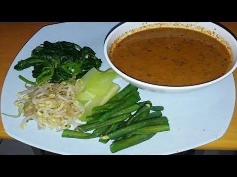 RESEP BUMBU PECEL - YouTube   Makanan, Resep masakan, Makanan dan minuman
