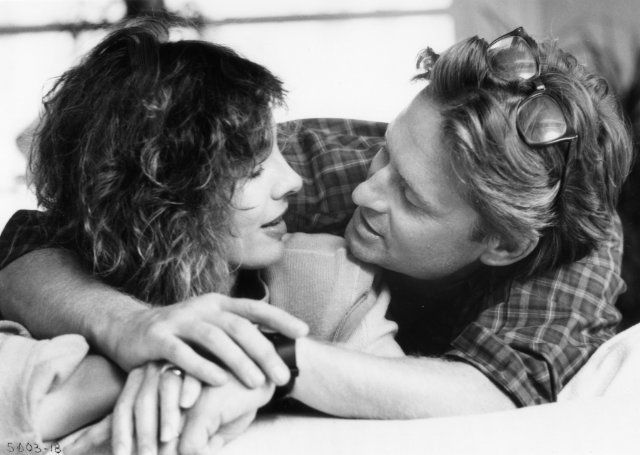 Still of Michael Douglas and Anne Archer in Fatal Attraction