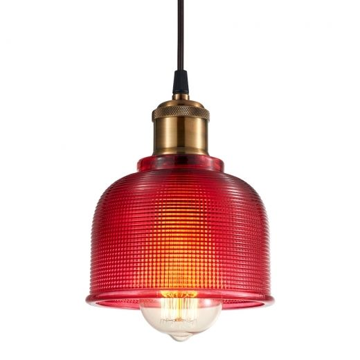 Cult Living Tulip Glass Pendant Lamp Hot Pink | Cult Furniture