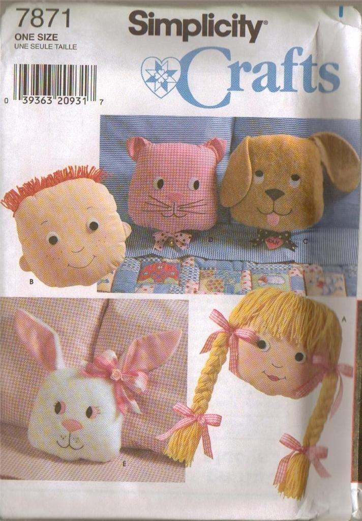 Animal Pillow Patterns To Sew : 17 Best images about Animal Pillows & Accessories on Pinterest Toys, Vintage and Children