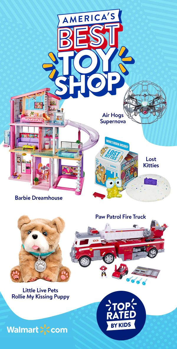 Shop All The Bestest Toys That Have Been Top Rated By Kids At