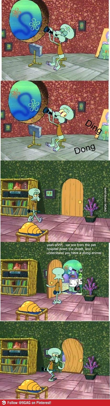 That good humor in SpongeBob