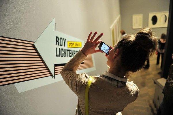 Jenna Clarke  at Nataional Gallery of Australia for the the Roy Lichtenstein Pop Remix opening night party.  Photo: Lyn Mills - Canberra Times #art #lichtenstein #party #popart