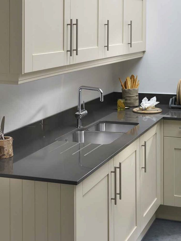 pewter stone  Laminate Kitchen Worktops