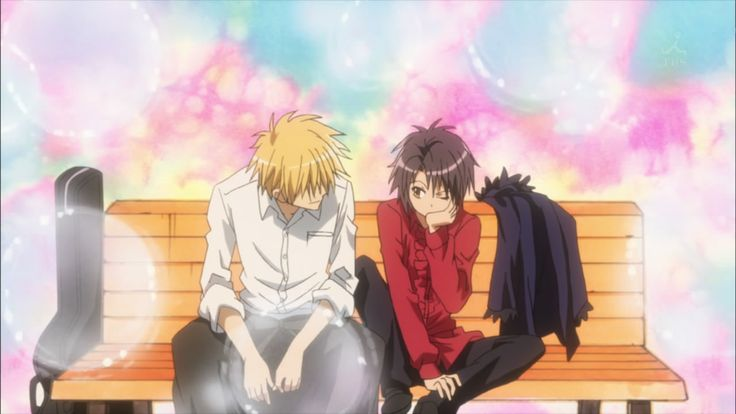 Just another normal day and Usui Takumi.