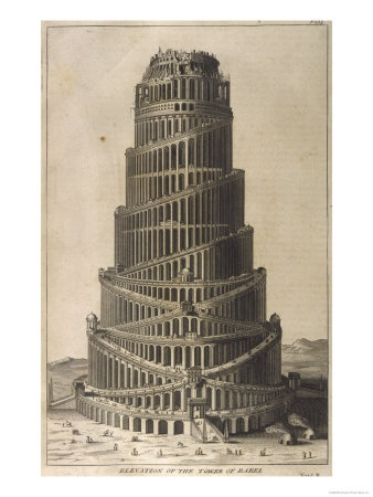 Tower of Babel  (Giclee print)
