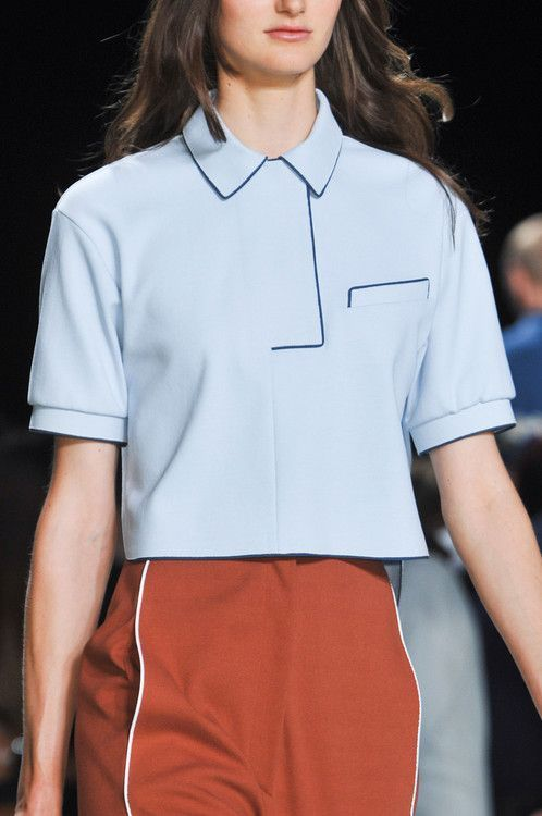 loving these style lines. great modernization for LACOSTE SS...: