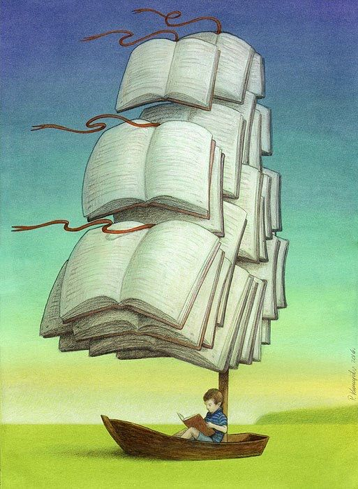 Books: setting sail to Imaginations of all ages