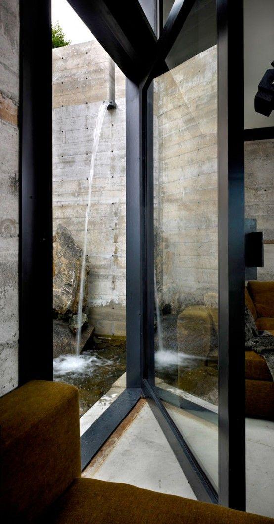 I have always loved swinging window doors. This is so perfect. #windows #doors