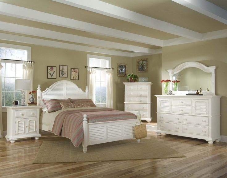 Bedroom. Wonderful White Queen Bedroom Set Design Featured White Wooden Bed Frame Suite Bed With Upholstered Color Comferters And White Drawer Nightstand Bedside With Dresser Also Gary Rug On Wooden Floor Tile As Well As Craemy Wall Paint Color Ideas. Beautiful Bedroom Ideas Featuring White Queen Bedroom Set Design http://bensonsroom.com