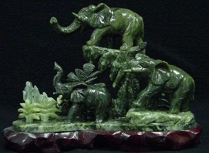 Best elephants figures stone images on pinterest