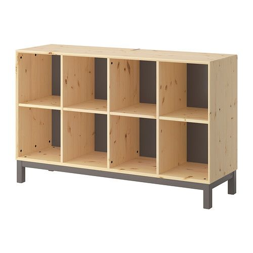IKEA - NORNÄS, Sideboard basic unit, , Untreated solid pine is a durable natural material that can be painted, oiled or stained according to preference.</t><t>Optimize your storage with BRANÄS or DRÖNA boxes.