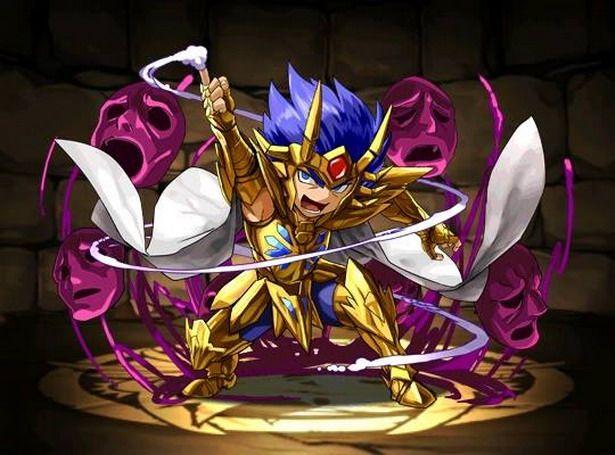 Esta versão dos Cavaleiros de Ouro versão Chibi foi criada como parte de um jogo para smartphones chamado Legend of Sanctuary Saint Seiya Puzzle & Dragons.