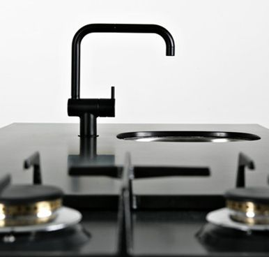 A lovely, chic kitchen faucet.