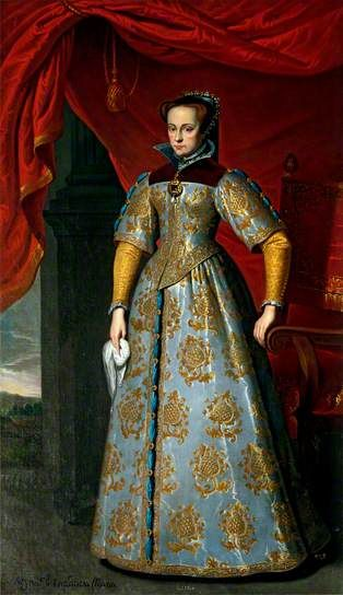 Queen Mary I of England (1516–1558), Anthonis Mor