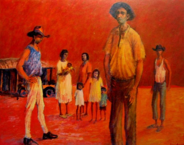 Rabbiters' Camp at Tilcha: George Russell Drysdale (1912-81) Australia