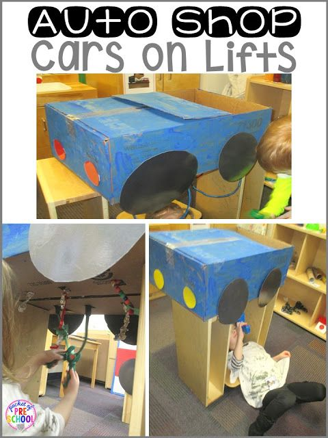 15 Best Dramatic Play Garage Images On Pinterest