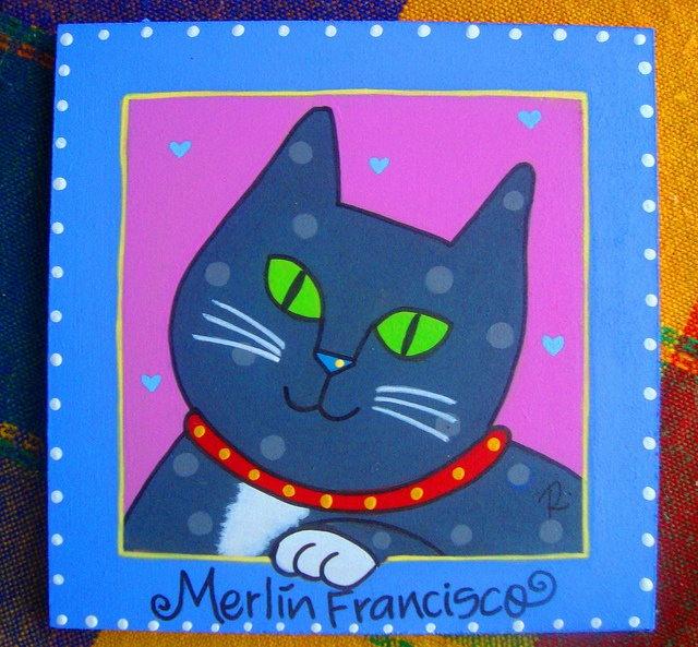 Gatito Merlin Francisco by rebeca maltos, via Flickr