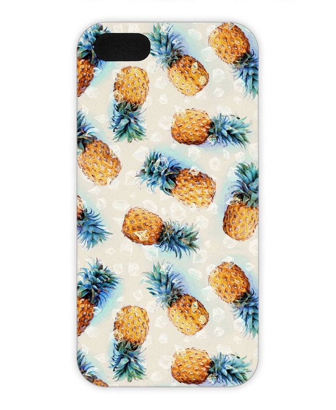 Pineapples + Crystals as iPhone 5/5S Case by Micklyn Le Feuvre | JUNIQE