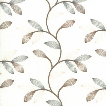 Home Decor Fabric - Signature Seduction B22 - beige, bleu, white