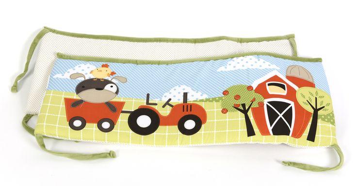 McDonald's Farm 4 Piece Crib Bumper Set