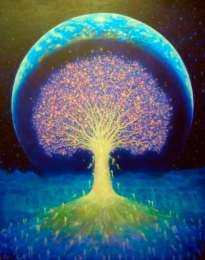 """""""Similar to energy, the soul is invisible. An infinite number of souls exist in the universe. In its pure form (a soul without attached karma particles), each soul possesses infinite knowledge, infinite perception, infinite energy and power, and unobstructed bliss."""" (from a Jain Sutra)"""
