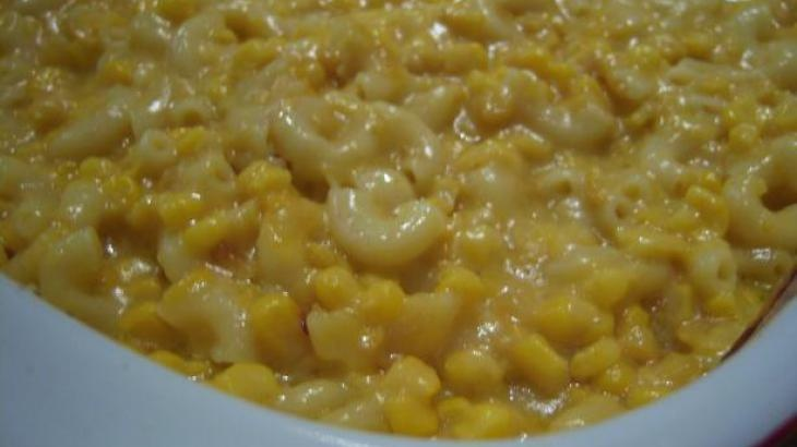 Miranda Lambert & Blake Shelton's favorite side dish: CORN AND MACARONI CASSEROLE