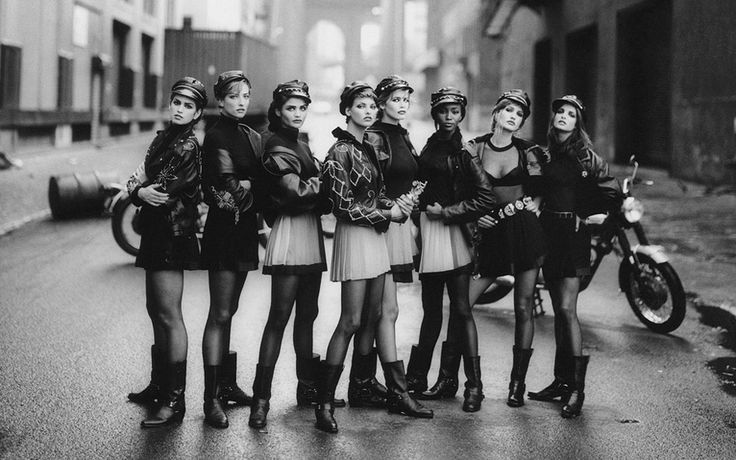 Photo by Peter Lindbergh, Vogue, 1991