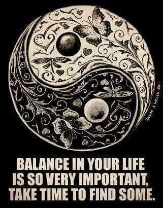 Take time to balance...