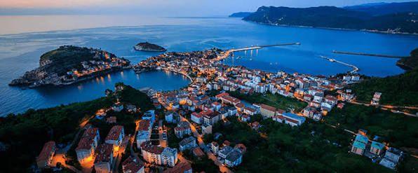 Bati Karadeniz Bolgesi Bartin Amasra Turkiye Oteller Cennet
